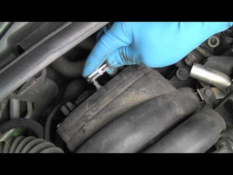 Replacing the PCV System on a BMW V8 Engine Part 1 of 2