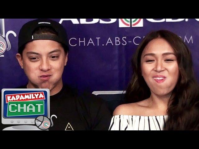 KathNiel takes on the Chubby Bunny Challenge Kapamilya Chat version