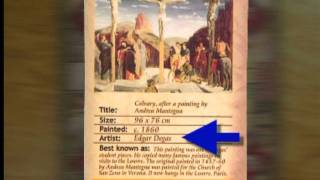 Video instruction for The Da Vinci Code - Board Game