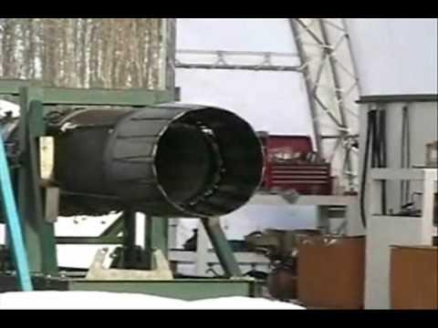 Fighter Jet Engine Afterburner Test
