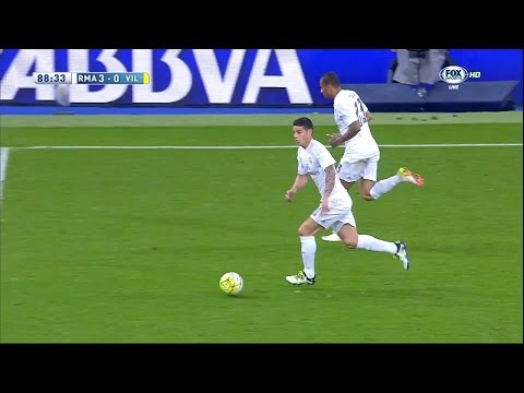 James Rodriguez vs Villareal Home (20/04/2016) by JamesR10™
