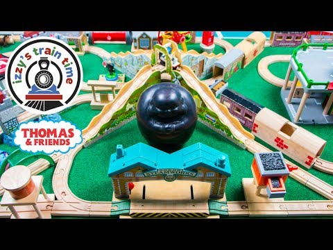 Thomas and Friends 15 MINUTE CHALLENGE TRACK | Fun Toy Trains for Kids | Thomas Train for Children