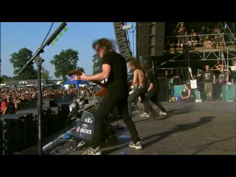 Airbourne - Heartbreaker (Wacken 2008) part 6 HQ Video