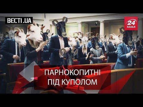Вєсті.UA. Ірина Луценко шукала у Раді козла