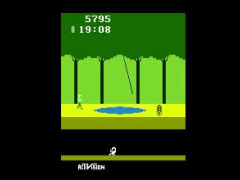 Pitfall! - I play Pitfall for Atari 2600 - User video