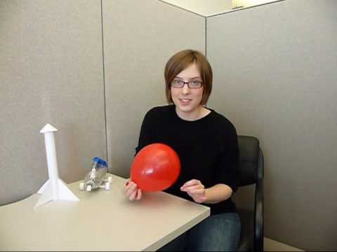 Balloon Powered Rocket