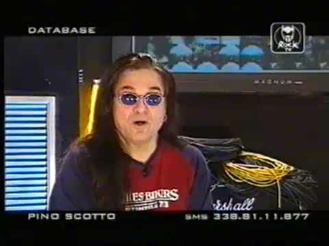 10)Pino Scotto insulti alla sua capigliatura!(da ridere)!