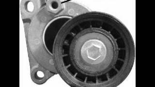 2007 Ford Focus Auto belt tensioner and scematic