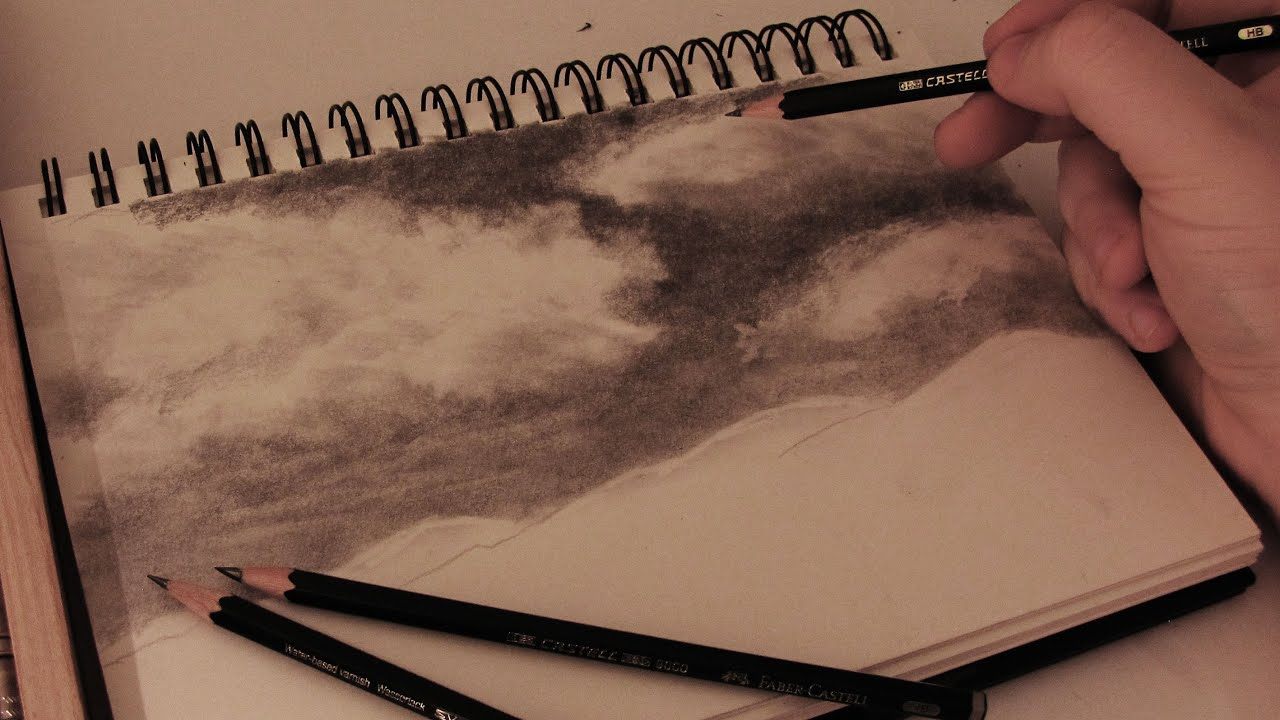 Cloud Texture Drawing How to Draw Realistic Clouds