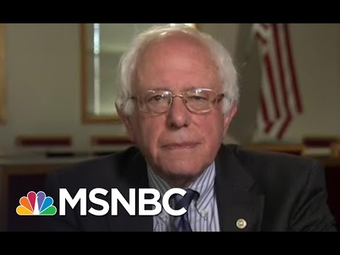Bernie Sanders: 'I'm The Stronger Candidate To Defeat Trump' | Andrea Mitchell | MSNBC