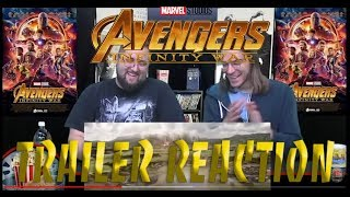 ReelTime Reaction: Avengers: Infinity War Trailer #2