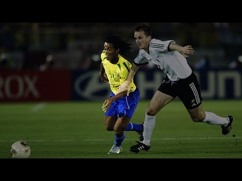Ronaldinho vs Germany 2002 World Cup Final