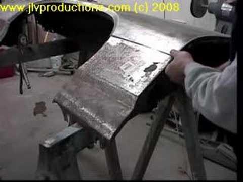 Fender Bottom Replacement Auto Restoration