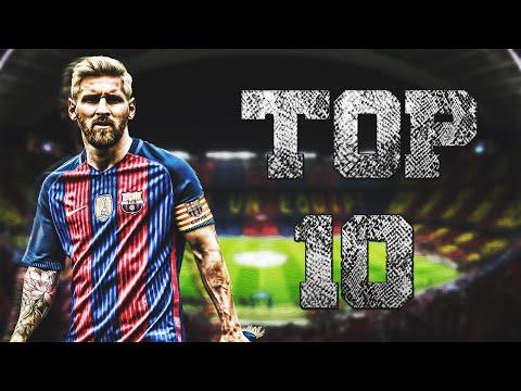 Top 10 | Mejores Goles de Lionel Messi