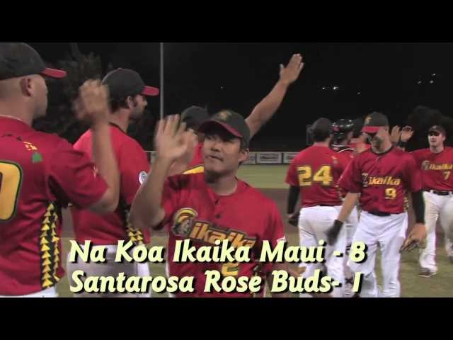 06/18/13 HIGHLIGHTS Maui Na Koa Ikaika vs. The Santa Rosa Rose Buds 8-1