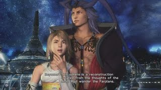 Final Fantasy X HD Remastered - Seymour Proposes to Yuna