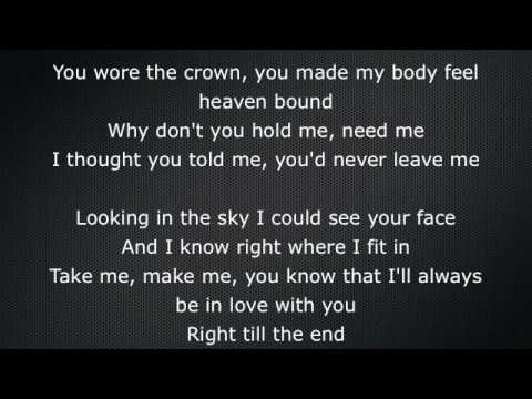 Try Sleeping With A Broken Heart - Alicia Keys -Lyrics On Screen Video