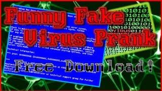Funny Fake Virus Prank (Harmless) - Free Download - Windows