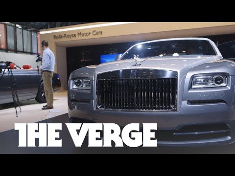 This is the incredibly luxurious Rolls-Royce Wraith Inspired by Film