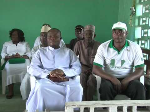 Nigerian Ambassador to Liberia  Visit Nigerians  Prisoners In Liberian