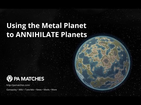 How to Destroy Planets with the Metal Planet's Catalyst