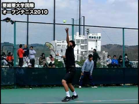テニス 田村和也 亜細亜大学国際オープンテニス2010-2日目