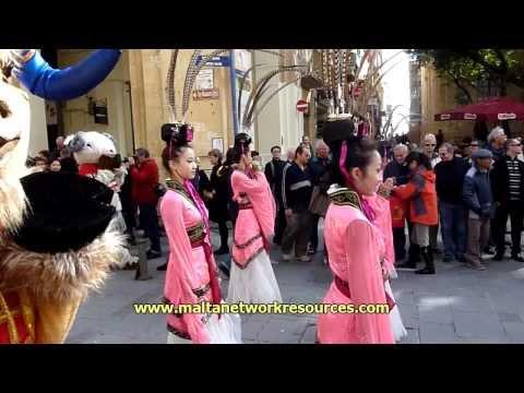 Flashback: Chinese Spring Festival 2010 in Valletta, Malta Part 2