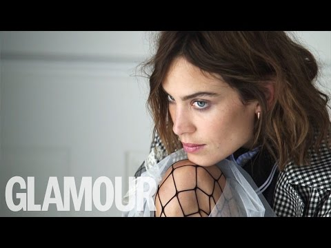 GLAMOUR cover star Alexa Chung on her fashion collection for M&S