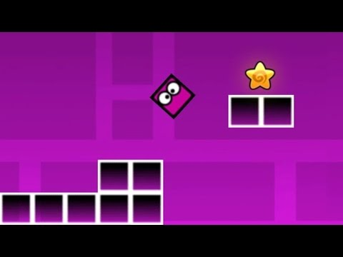 Geometry Dash Neon - Игра на Silvergames