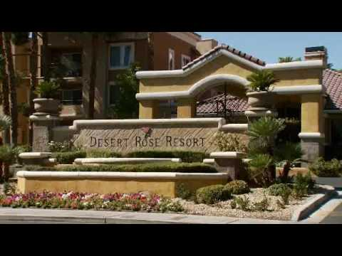 The Desert Rose Resort, located right next to the Las Vegas Strip (RCI TV)