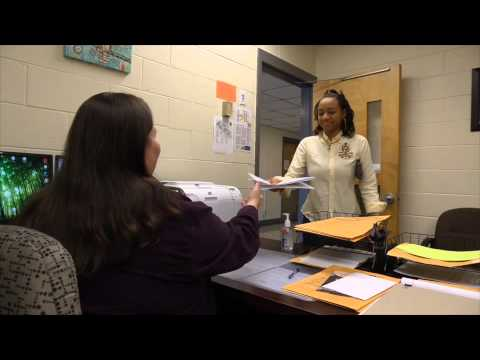 Student Discusses the learning support redesign at Athens Technical College