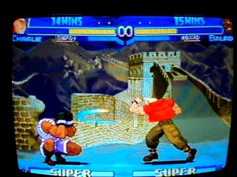 Free'play''Hiper street alpha Morto(Charlie) vs Shellbugado(Balrog)final