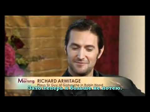 Richard Armitage's Interwiev 27.10.2008. Russian subtitles