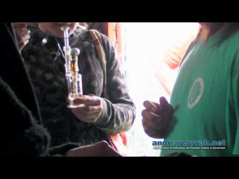 Dabs with Tan from The Cannabis College - Cannabis Liberation Day Amsterdam 2013