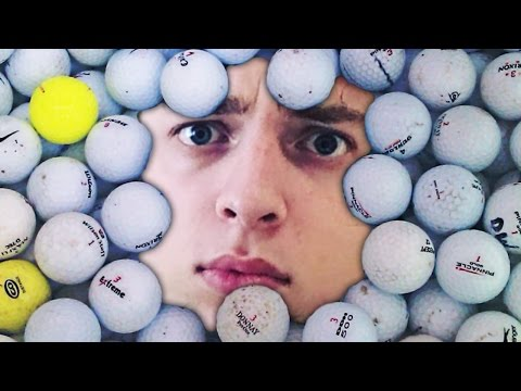 SO MANY GOLF BALLS!? (Golf with Friends)
