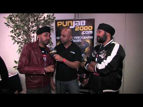 Punjab2000.com interview with RDB @ the BritAsia 2012 Music Awards by Baja