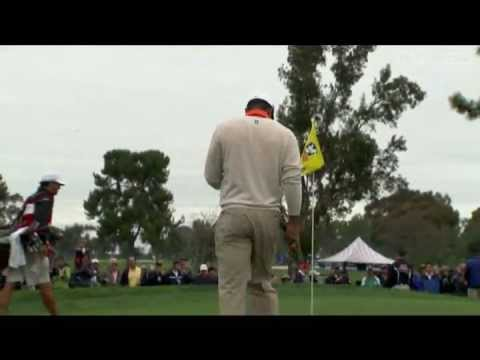 Full highlights of Woods' first PGA tour start of 2013 at Torrey Pines. He won the event by four shots, finishing at 14 under par despite playing his final five holes in 4-over (the biggest...