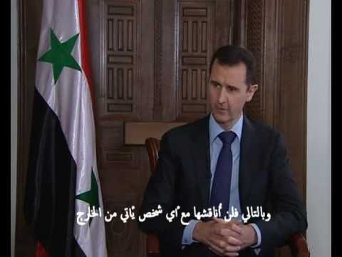 The Sunday Times interview with Syria's President Bashar al-Assad