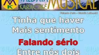 download musica Falando Serio Claudia Leite Karaoke