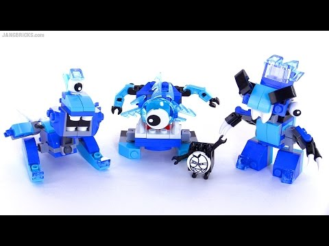 LEGO Mixels Series 5 review - FROSTICONS! Snoof. Krog & Chilbo!