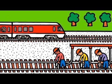 Çizgi Film – Taşıtlar – Tren