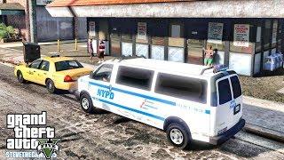 GTA 5 MODS LSPDFR 0.4.1 - NYPD VAN PATROL!!! (GTA 5 REAL LIFE PC MOD)