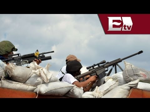 Conflicto por desarme a grupos autodefensa provoca dos muertes Andrea Newman