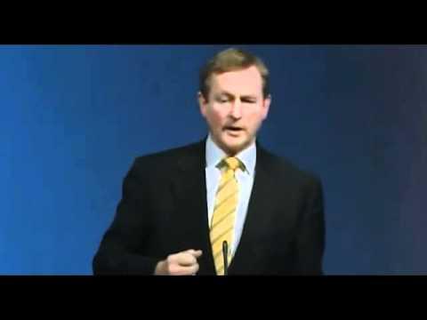 Enda gears up for the debates season in Election 2011.