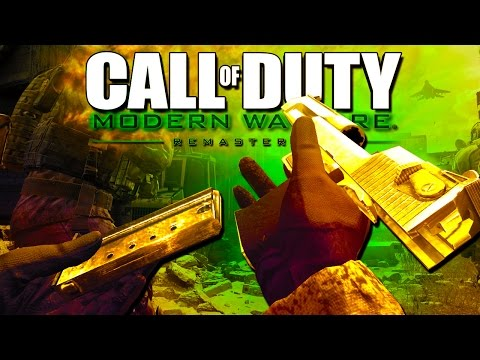 GUN GAME! - Call of Duty Modern Warfare Remastered!