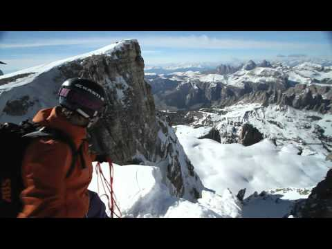 Free Ski Mountaineering in the Dolomites with McFly
