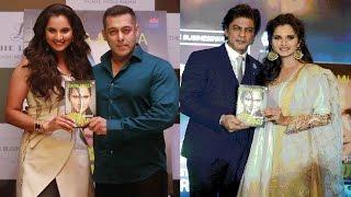 Salman Khan और Shahrukh Khan ने एक साथ करी Sania Mirza की Book Launch...