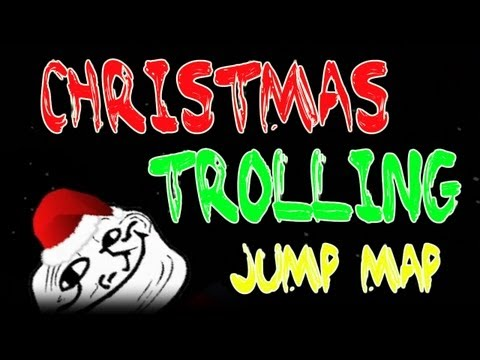 Minecraft 1.4.6 CHRISTMAS SPECIAL! - Epic Jump Map Christmas Trolling - Part 1