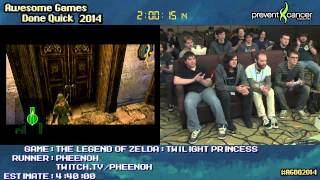 Legend of Zelda: Twilight Princess :: SPEED RUN (4:28:17) (All Dungeons) [GCN] by Pheenoh #AGDQ 2014