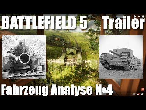 Battlefield 5 - Panzer & Flugzeug Analyse, Reveal Trailers №4